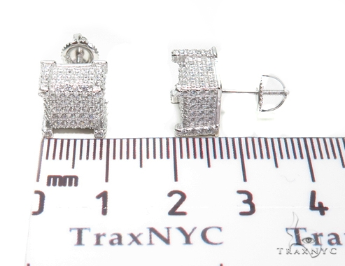 Sterling Silver Earrings 41283 Metal