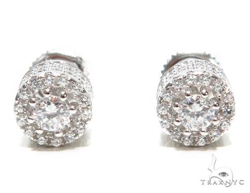 Sterling Silver Earrings 41287 Metal