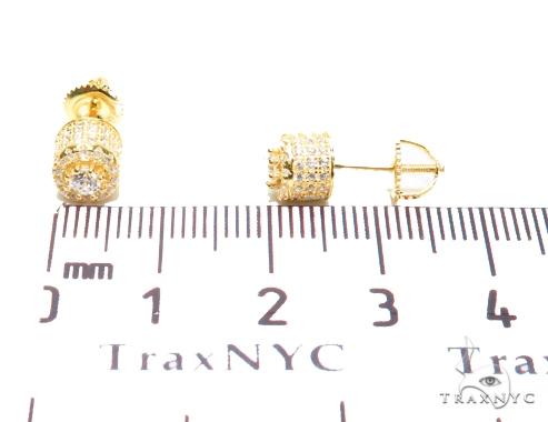 Sterling Silver Earrings 41288 Metal
