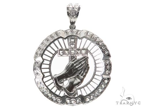 Sterling Silver Pendant 40902 Metal