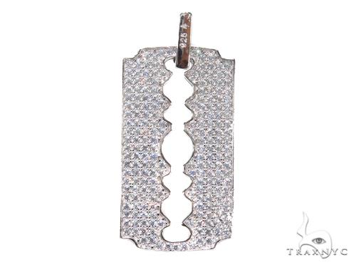 Sterling Silver Pendant 41157 Metal