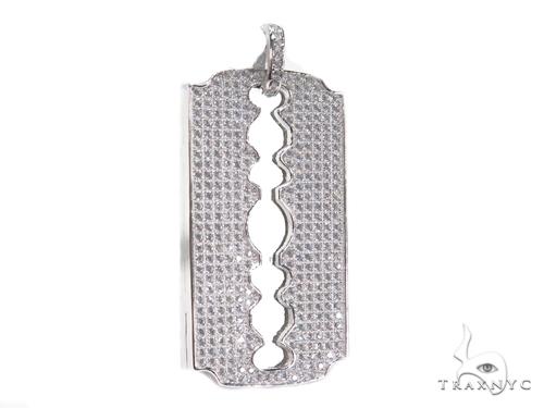 Sterling Silver Pendant 41160 Metal