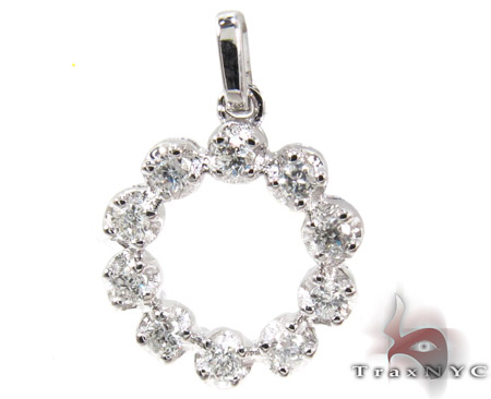 Sun Shape Diamond Pendant Stone