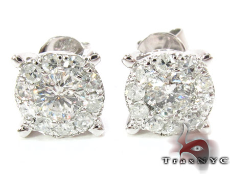 Surround Diamond Earrings 3 Style