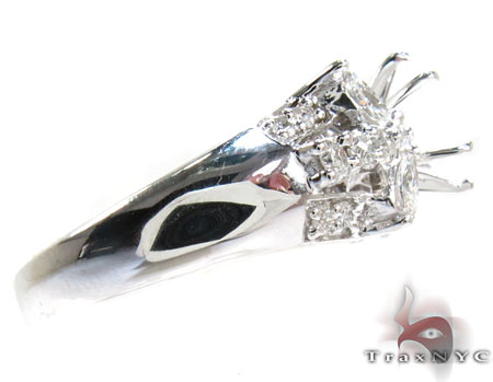 Sweet Butterfly Semi Mount Ring Engagement
