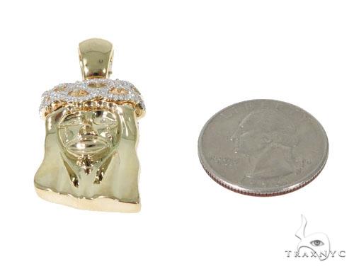 Teardrop Diamond Jesus Pendant 45289 Style