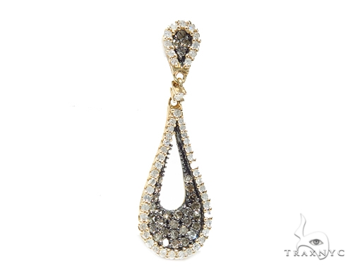 Teardrop Diamond Pendant 42590 Stone