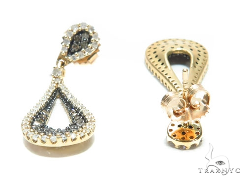 Teardrop Prong Diamond Earrings 42560 Style