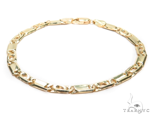 Tiger Eye Gold Bracelet 41932 Gold