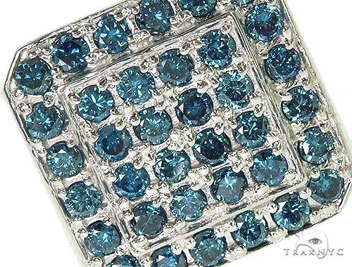 Trax NYC Heavy Blue Color Diamond Ring Stone