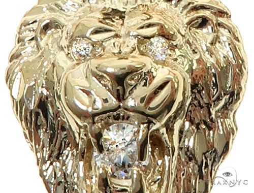 TraxNYC  Diamond Lion Pendant 65810 Metal
