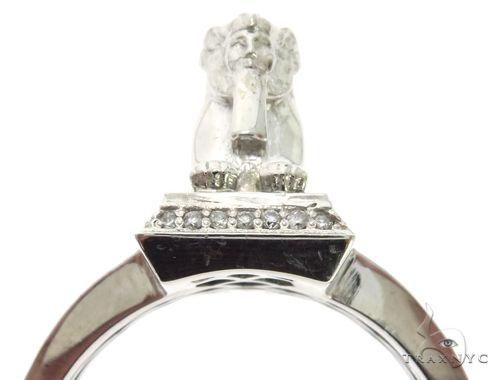 TraxNYC Custom Made Great Sphinx of Giza Diamond Ring 63071 Stone