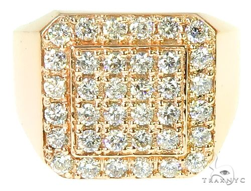 TraxNYC Heavy 10k Gold Ring Stone