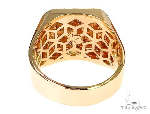 TraxNYC Heavy 10k Gold Ring Stone