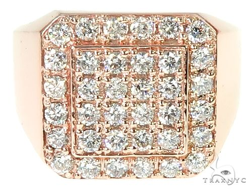 TraxNYC Heavy 14k Gold Ring Stone