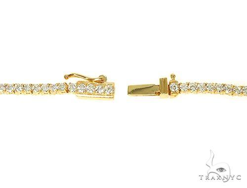TraxNYC Signature 4 Pointers 14K Yellow Gold Diamond Tennis Chain 66010 Diamond