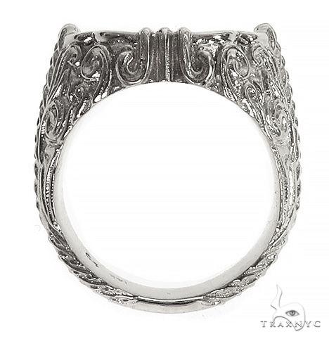 TraxNYC Silver Diamond Ring 66399 Metal