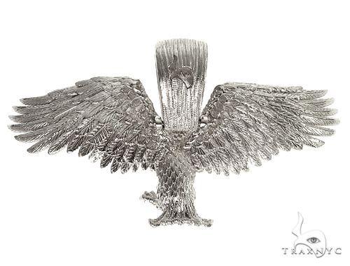 TraxNYC Silver Eagle Pendant 66409 Metal
