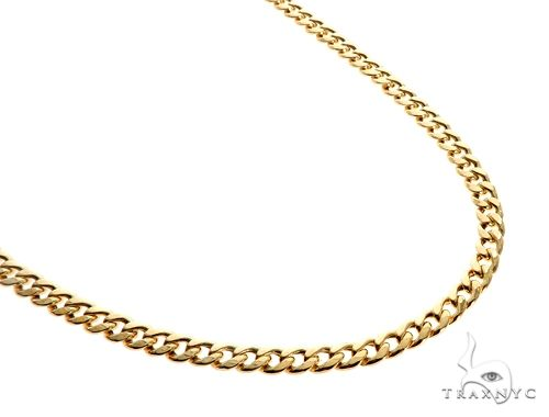 TraxNYC's Best Buy 14KY Hollow Cuban Curb Link Chain 22 Inches 5.5mm 21.00 Grams Gold