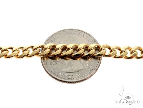 TraxNYC's Best Buy 14KY Hollow Cuban Curb Link Chain 22 Inches 5.5mm 18.9 Grams Gold