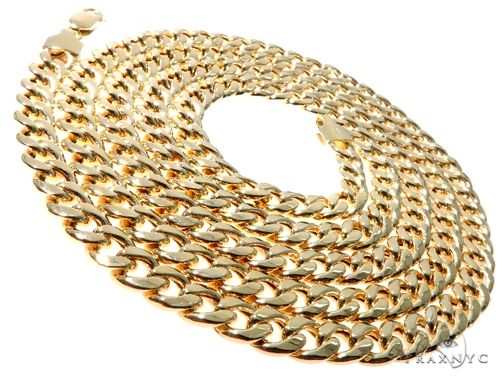 TraxNYC's Best Buy 14KY Hollow Cuban Curb Link Chain 32 Inches 5.5mm 31.6 Grams Gold