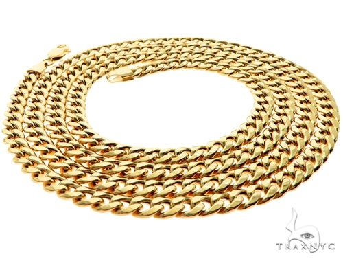 TraxNYC's Best Buy Cuban Link Chain 24 Inches 5mm 13.05 Grams 63757 Gold