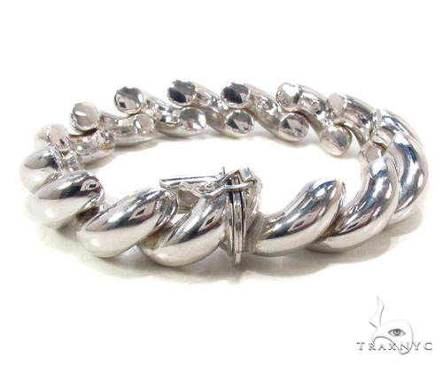 Twist Silver Bracelet Silver