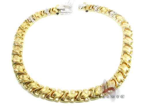 Two Tone Gold Bracelet Diamond