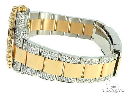 Two Tone Mens Diamond DateJust 41mm Rolex Watch 65813 Diamond Rolex Watch Collection