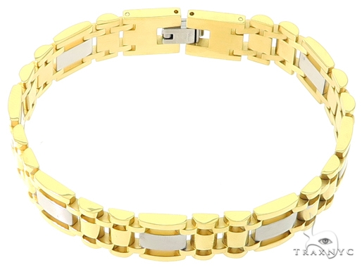 Two Tone Stainless Steel Bracelet 57435 Stainless Steel
