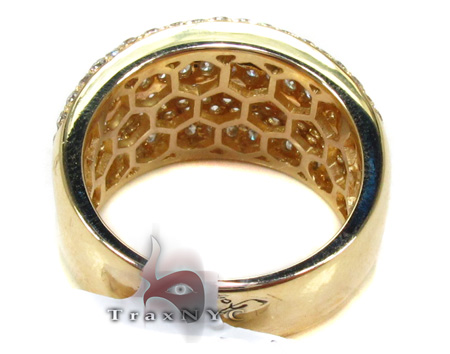 Unisex Pave Diamond Ring 21508 Stone