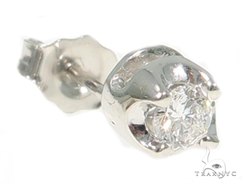 VS2 Sing Stud Earring 49433 Stone