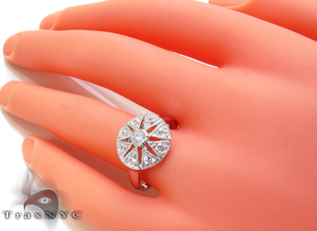 Vintage CZ Ring 21311 Anniversary/Fashion