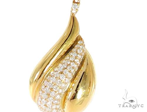 Waterdrop Diamond Earrings 56501 Stone