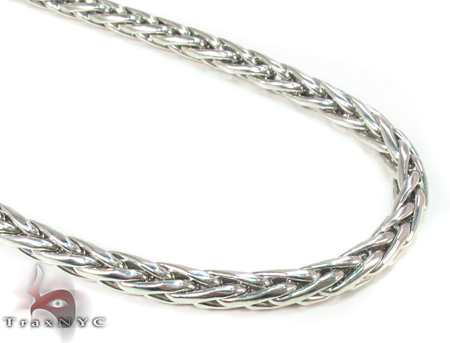 Wheat Silver n 30 Inches, 4mm, 32.4 Grams Silver