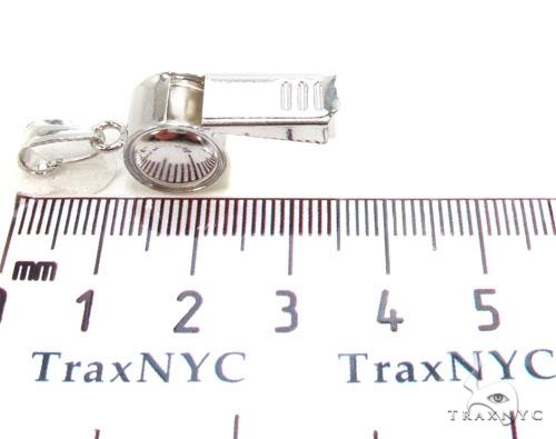 Whistle Silver Pendant 36343 Metal