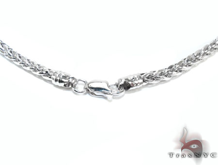 White Gold n 16 Inches 2mm 6.1 Grams Gold