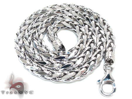 White Gold Chain 16 Inches 5mm 18.8 Grams Gold