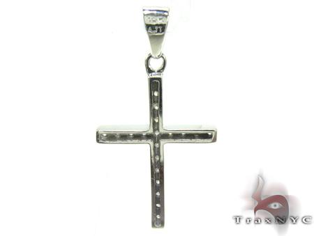 White Gold Diamond Cross 21752 Diamond