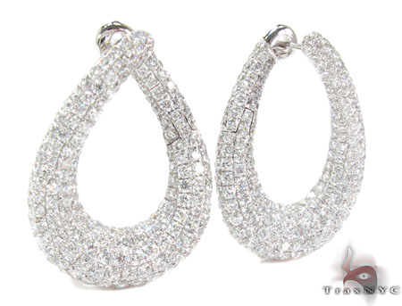 Esmeralda Diamond Chandelier Earrings Style