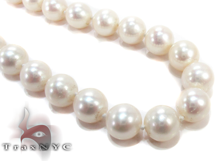 White Pearl Ladies Nacklace 27358 Pearl