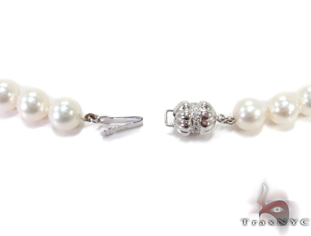 White Pearl Ladies Nacklace 27360 Pearl