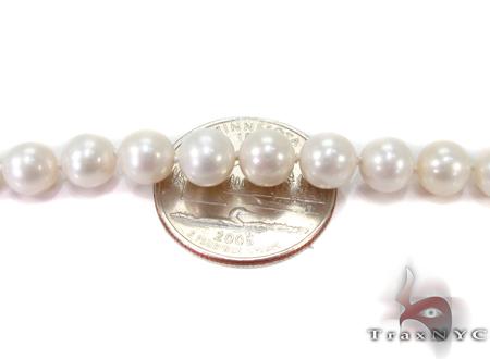 White Pearl Ladies Nacklace 27361 Pearl