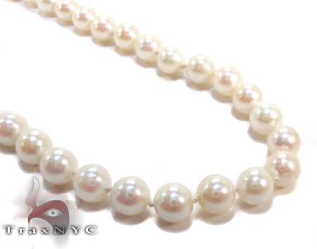 White Pearl Necklace 27190 Pearl