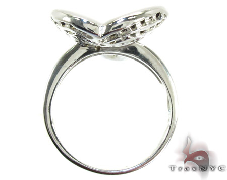 White Silver CZ Fashion Ring Anniversary/Fashion