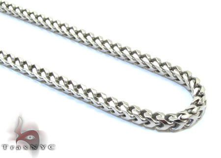 White Silver Chain 30 Inches 2mm 20.2 Grams Silver