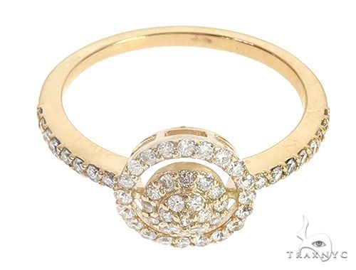 14K Yellow Gold  Inessa Ring Anniversary/Fashion