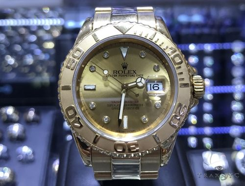 Yacht Master Oyster Perpetual Date Rolex Watch 63867 Diamond Rolex Watch Collection