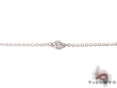 Yard Bezel Diamond Necklace Diamond