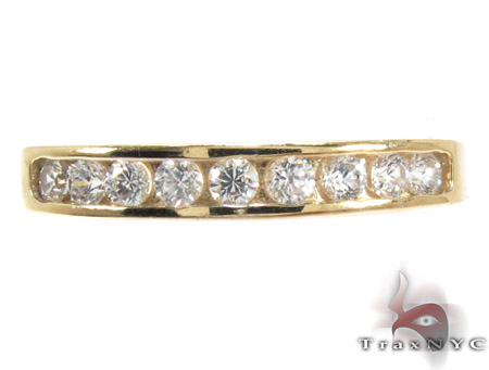 10K Gold His & Her CZ Ring Set 25279 Engagement